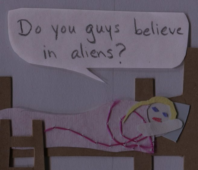 "The Middlest Sister: I Want to Believe. ""Do you guys believe in aliens?"""