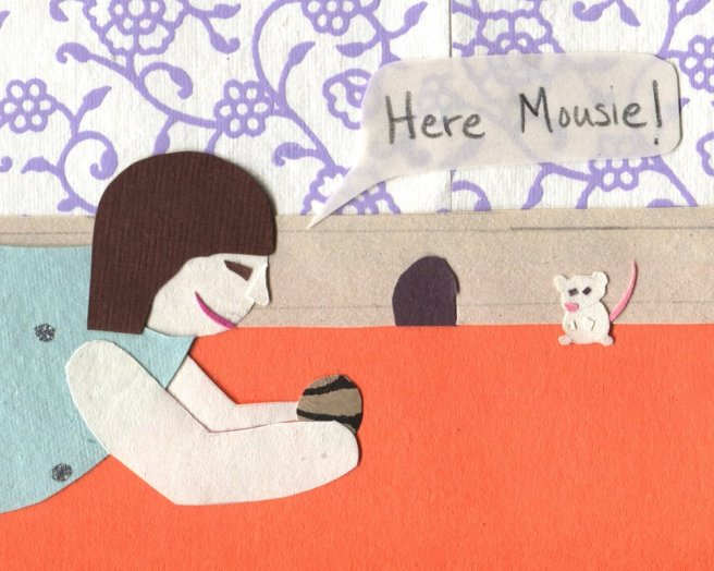 "The Middlest Sister: Mouse in the House ""Here Mousie!"" Cookie"