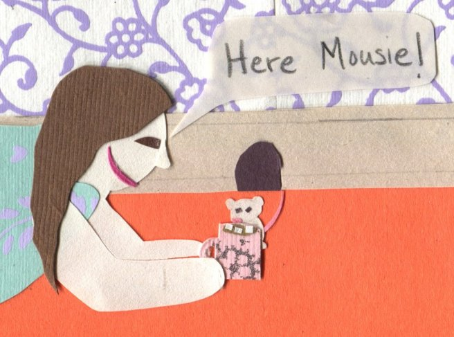 "The Middlest Sister: Mouse in the House ""Here Mousie!"" hot cocoa"