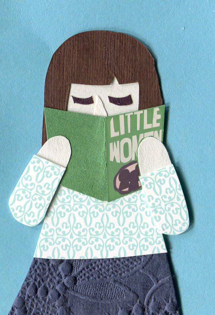 """Ashley is reading """"Little Women"""""""