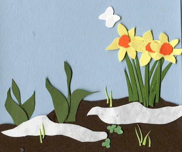 I love the tulips, I love the daffodils.