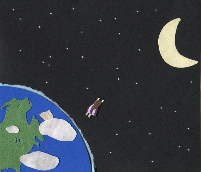 Tess breaks through Earth's atmosphere