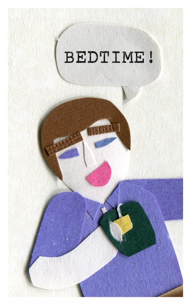 Dad: Bedtime!