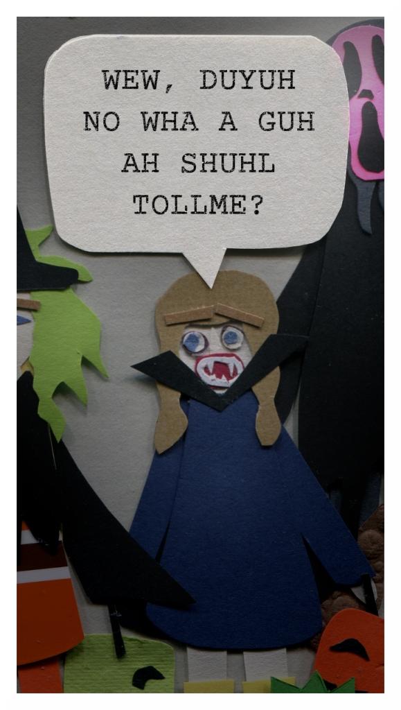 Charlotte: Wew, duyuh no wha a guh ah shuhl tollme?